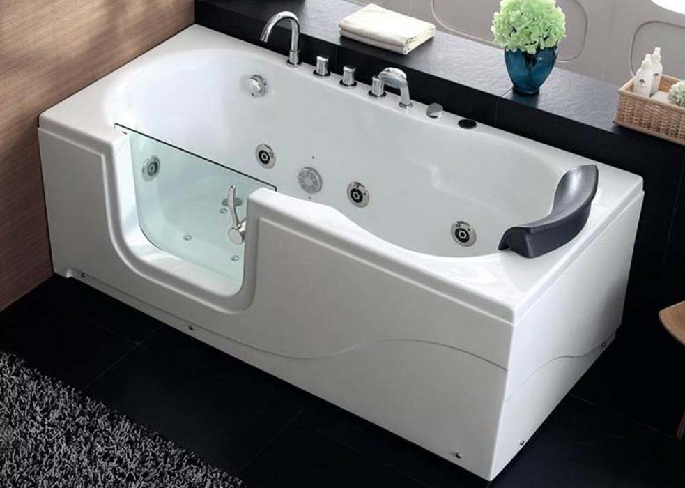 Vasca Da Bagno Angolare Con Sportello : Vasca con doccia integrata come scegliere vasche da bagno